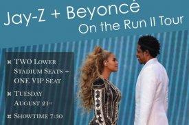 2018 Jay Z + Beyonce Tour